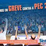 Comunicado sobre a greve dos Técnicos Administrativos